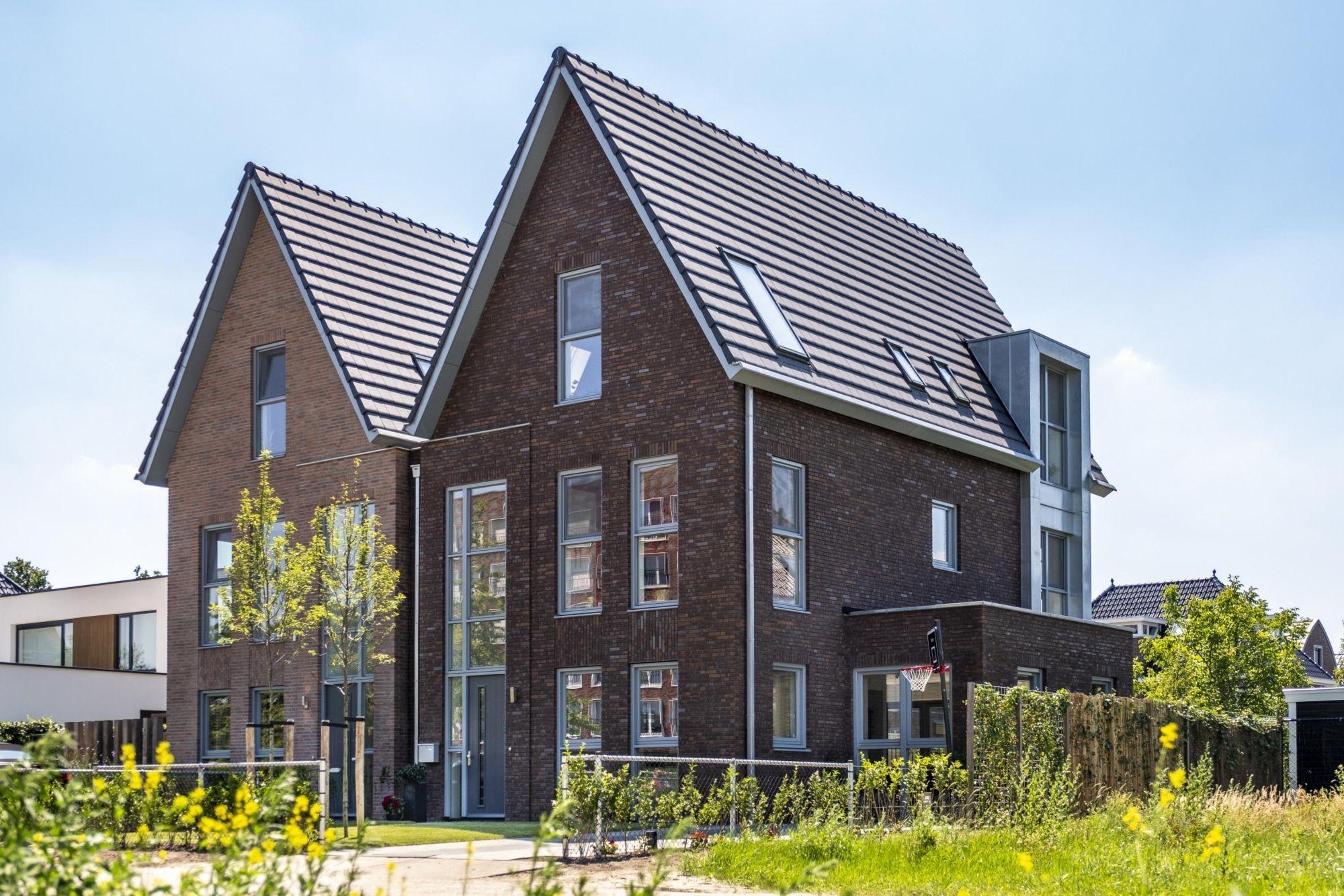 2 Onder 1 Kap Nieuwbouw Woning Allure Bouw Nieuwbouw Huisstijl Architectuur
