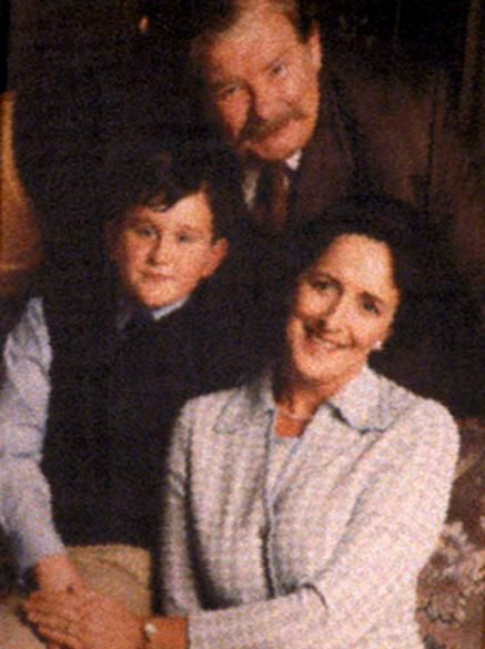 The Dursleys Petunia Vernon And Dudley In The 1980s With