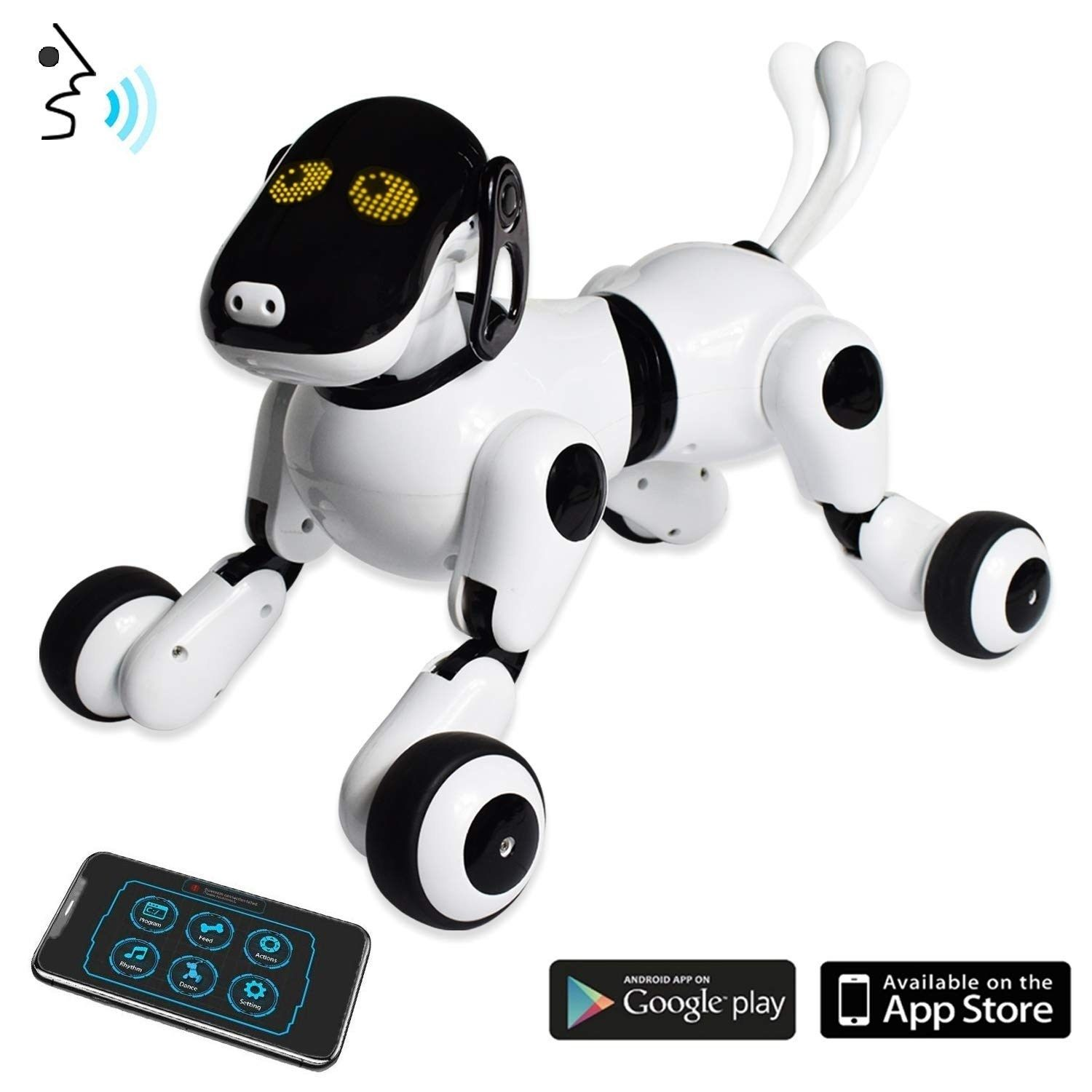 Puppy Smart Voice App Controlled Kids Robot Dog Toy Interactive