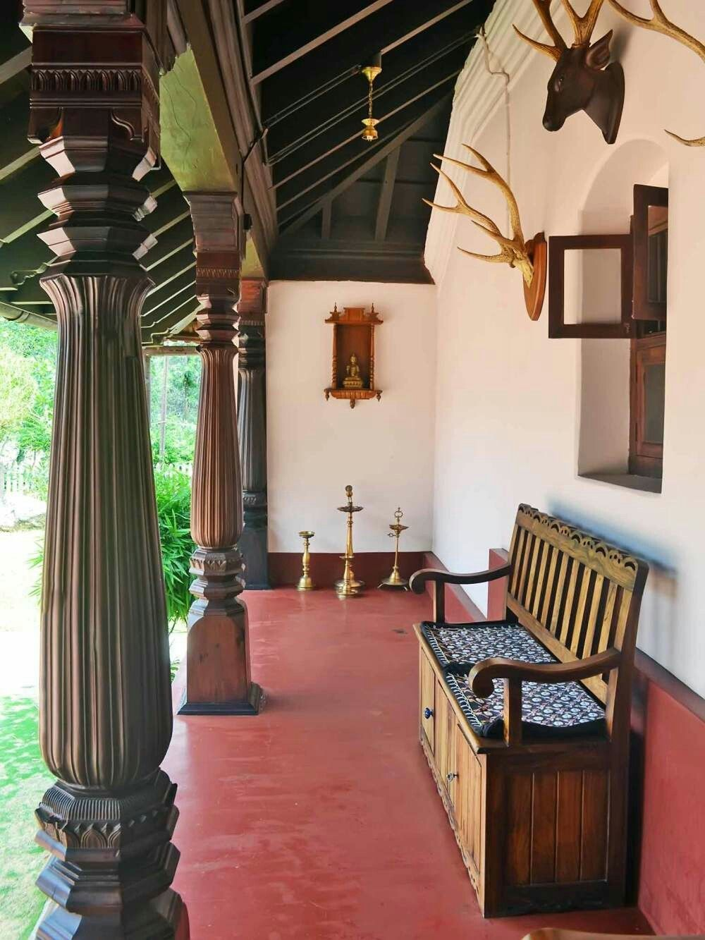 Round Pillar Design For Houses In Kerala Valoblogicom