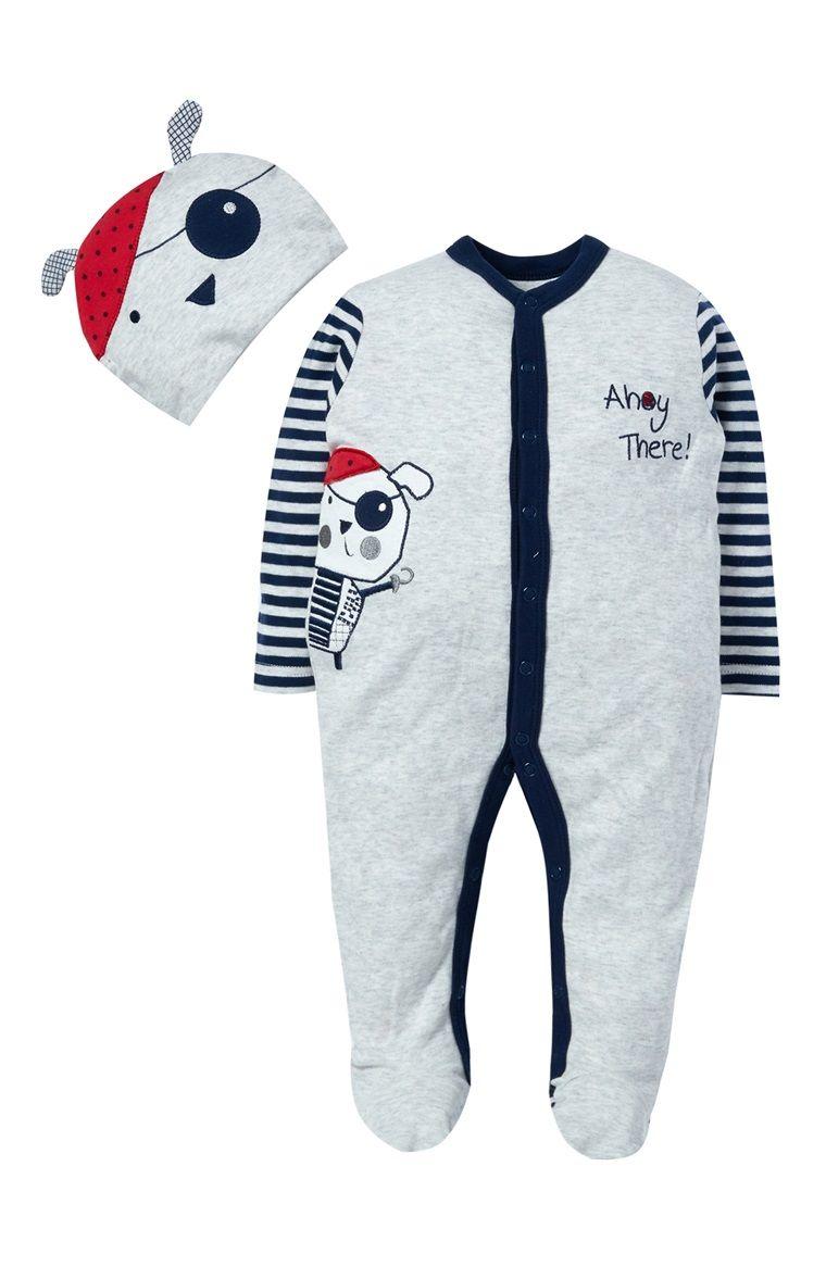 9c161c8ea Primark - Babygrow fantasia de cão cinzento Pijama