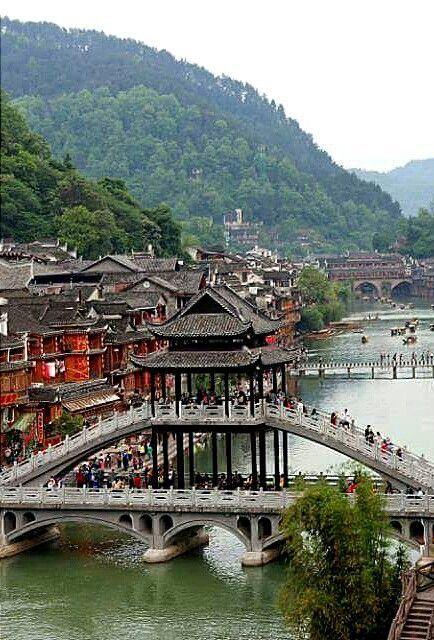 Fenghuang, China China Pinterest China, Asia and China travel - chinesischer garten brucke