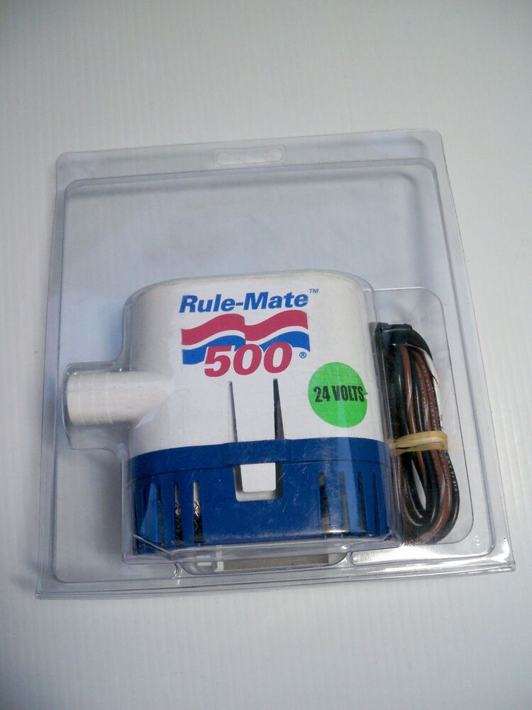 Rule Rm500B Fully Automated Bilge Pump 500 GPH