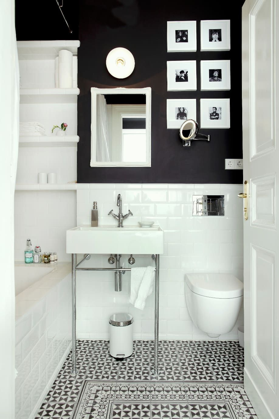 tipps f r kleine badezimmer hier im westwing magazin bathroom pinterest kleine b der. Black Bedroom Furniture Sets. Home Design Ideas