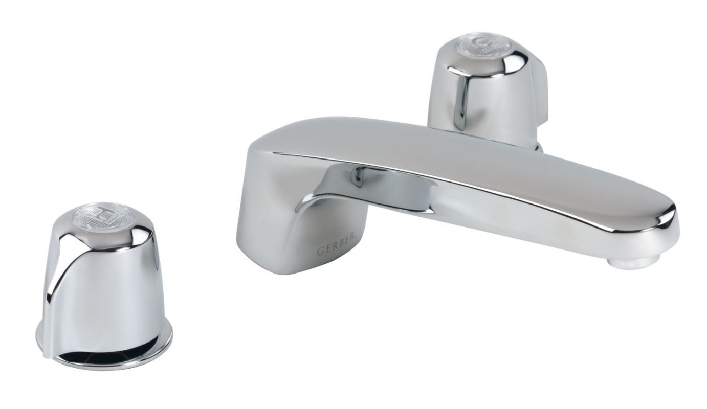 Gerber 48-600 Maxwell Deck Mounted Roman Tub Faucet - Includes Valve ...
