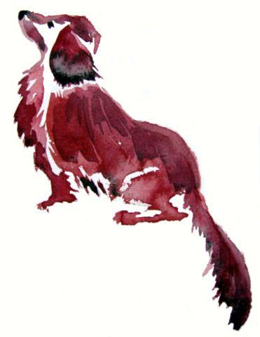 Red Dachshund by Emma Bradshaw