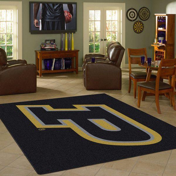 Purdue Boilermakers NCAA Team Logo Spirit Rug