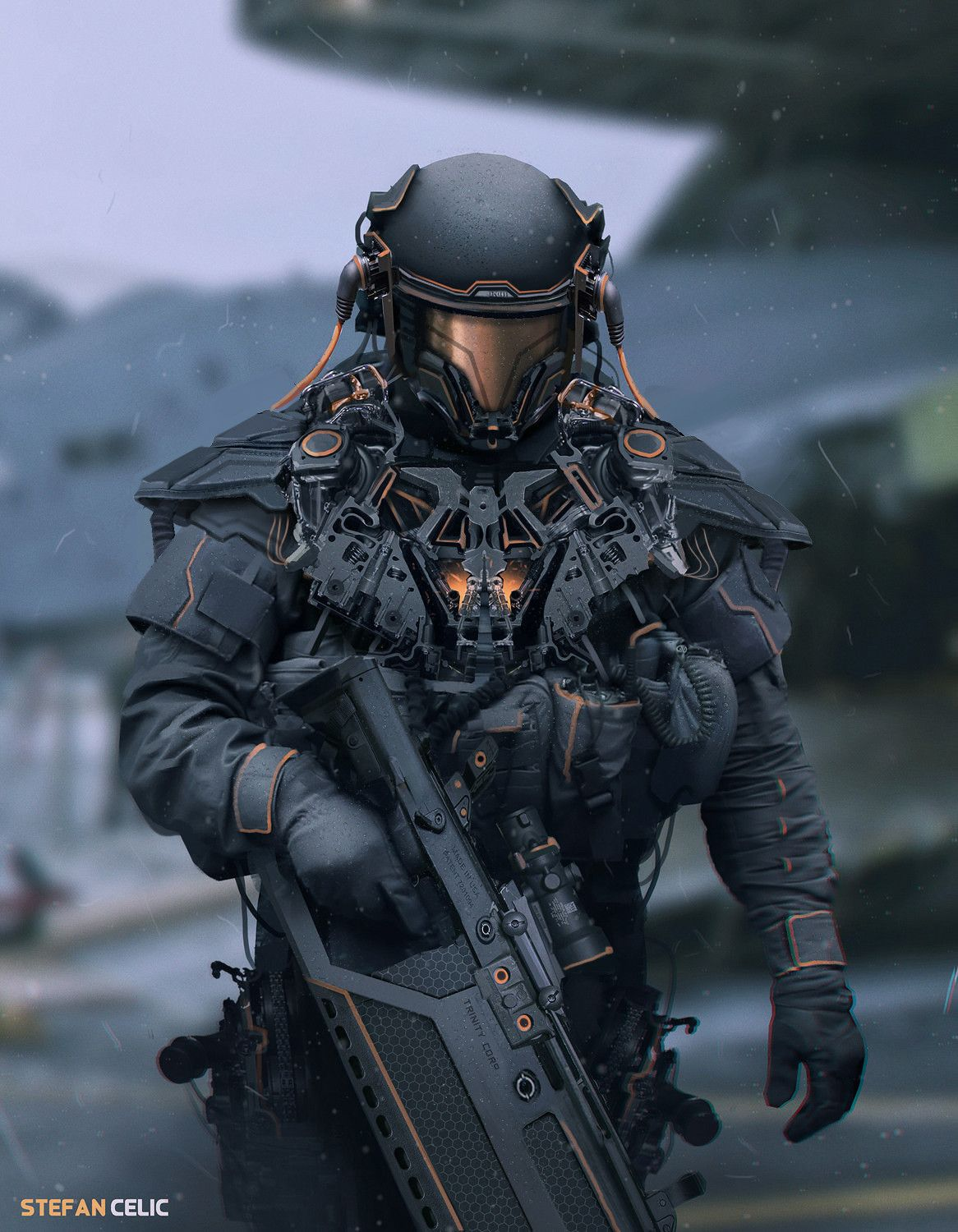 Pin by Arturius Laser on Haywire in 2019   Future soldier ...