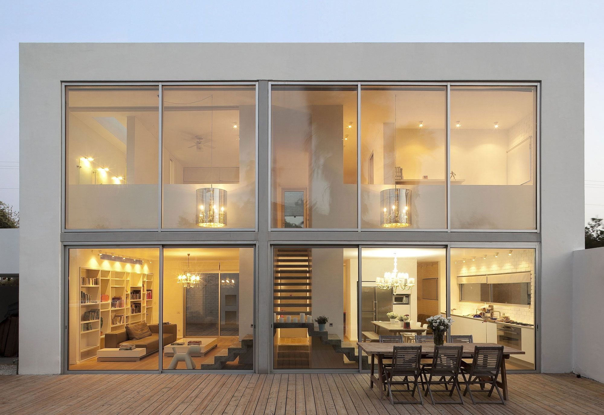 Even Yehuda House by Sharon Neuman Oded Stern Meiraz