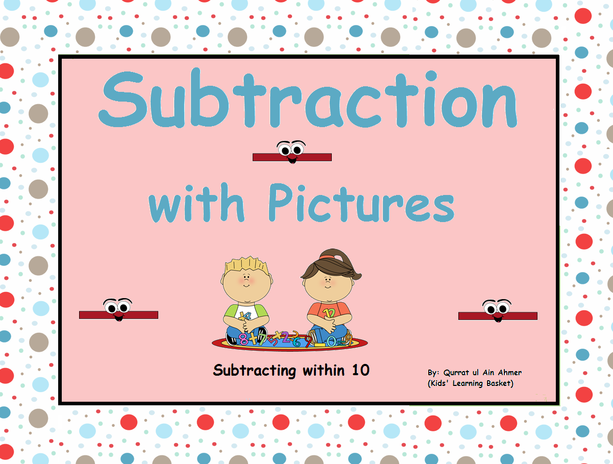 Subtraction With Pictures Within 10