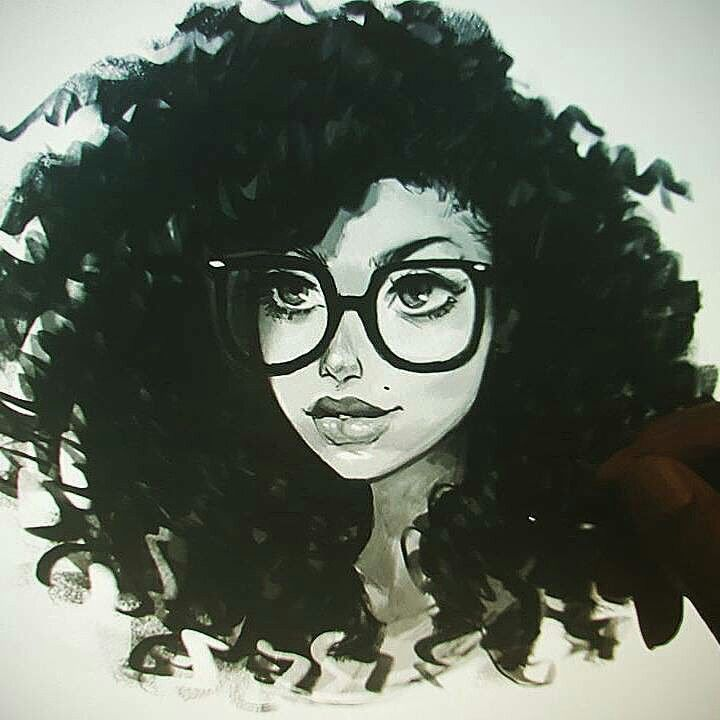 Natural Black Girl Magic Art Afro Art Black Girl Art