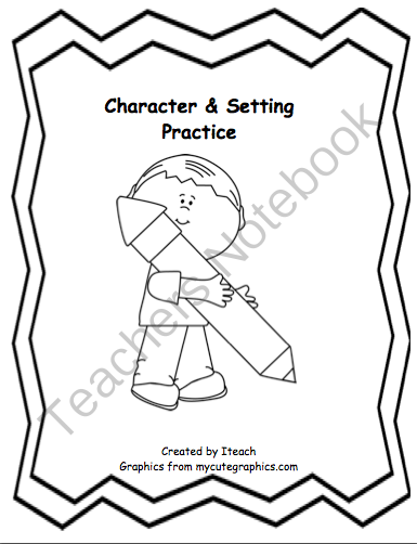 Character & Setting Practice~ FREE from I Teach on