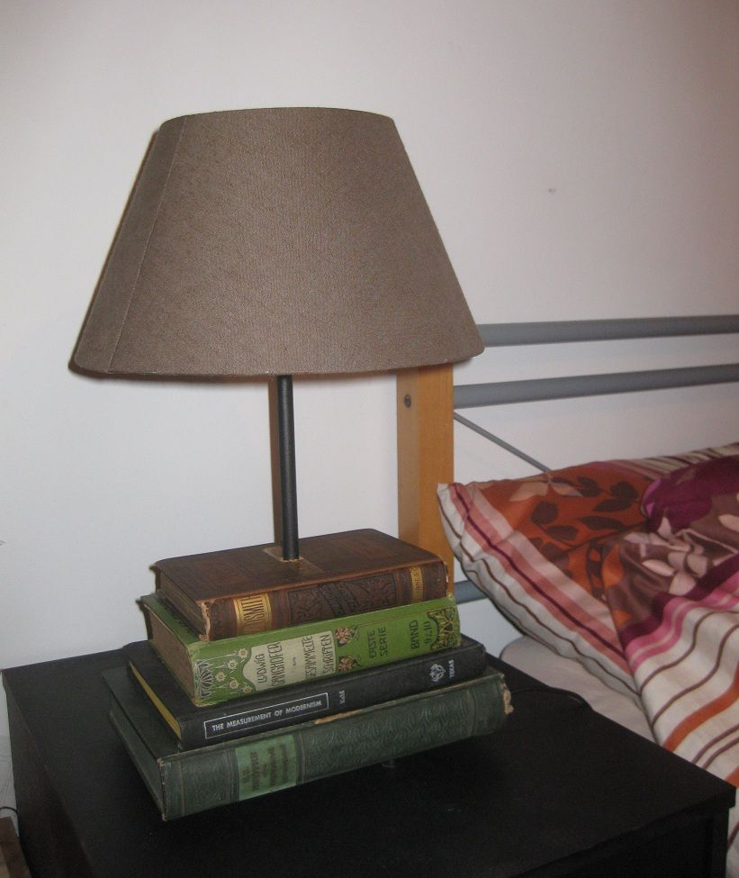 Hemma Book Lamp Ikea Hackers Book Lamp Diy Table Lamp Lamp