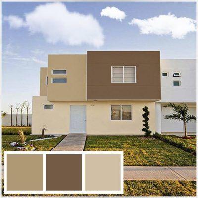 Colores para casas exteriores comex 8 paredes for Pintura de exteriores de casas pequenas