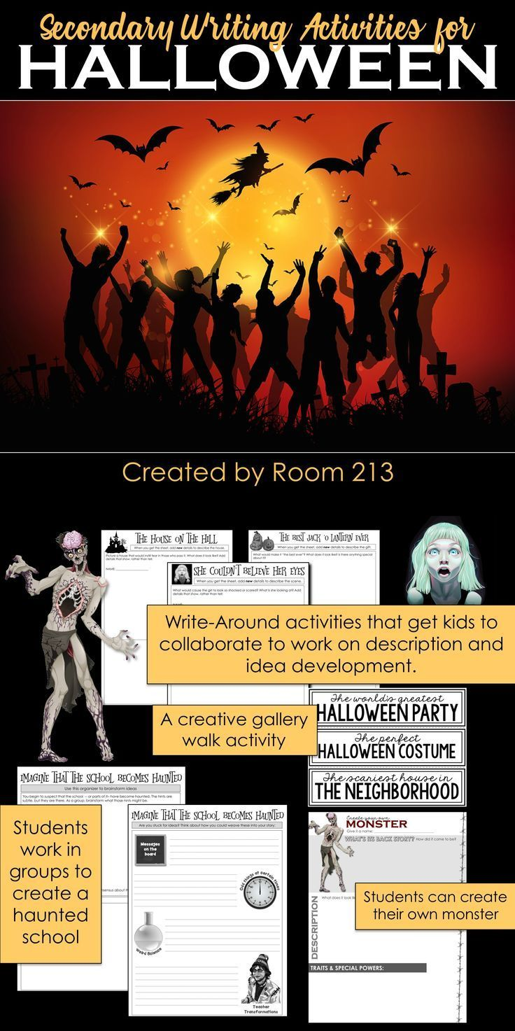 21++ Halloween crafts for high school students information