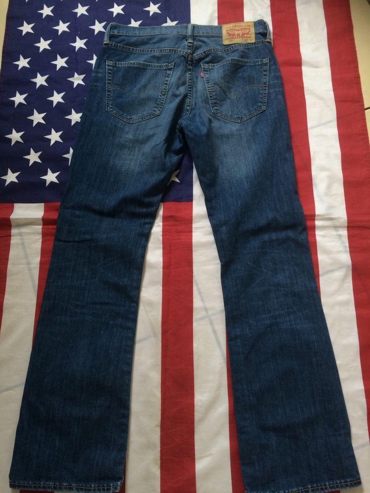 03321914 Levi's 527 bootcut blue jeans waist 32' leg 32'. levi | FOR SALE ...