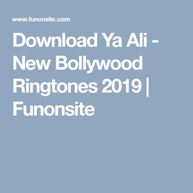 bollywood ringtones 2019