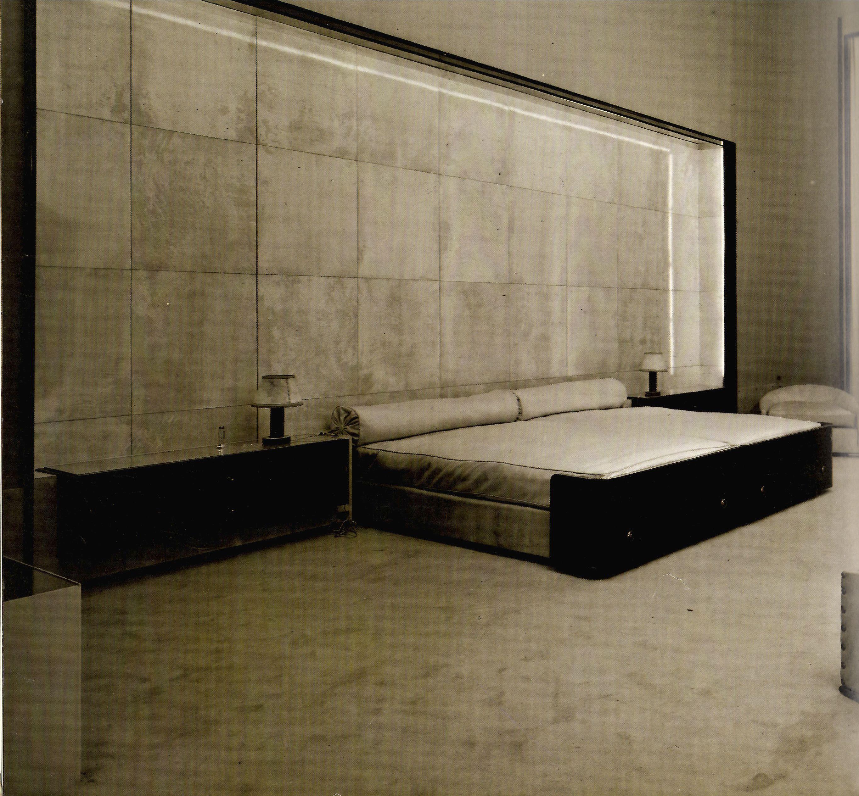 Dupre lafon bed niche bedroom pinterest camas for Dormitorio principal m6 deco