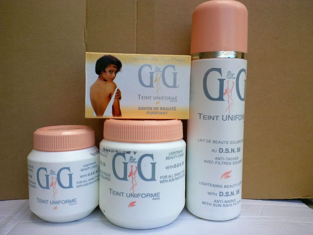 4ca3f396c59f Details about G & G Lightening Beauty With D.S.N.56 Body Products ...