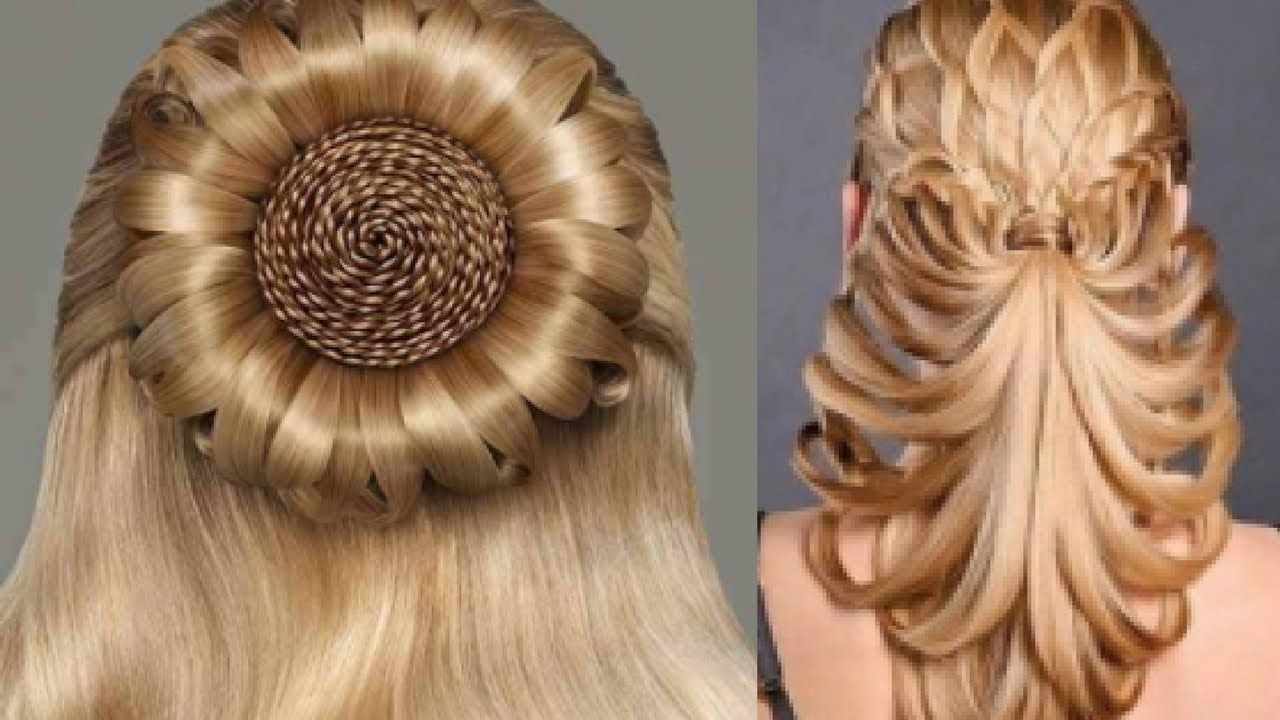 New Beautiful Hairstyles For Girls | Hair styles, Crazy hair days, Cool easy hairstyles