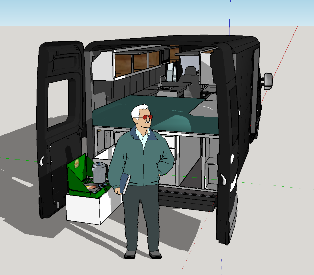Ram ProMaster Camper Van Design. After About A Month This