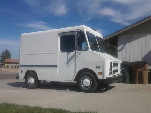 Falling in Love with a Step Van | Step van, Van, Cool trucks