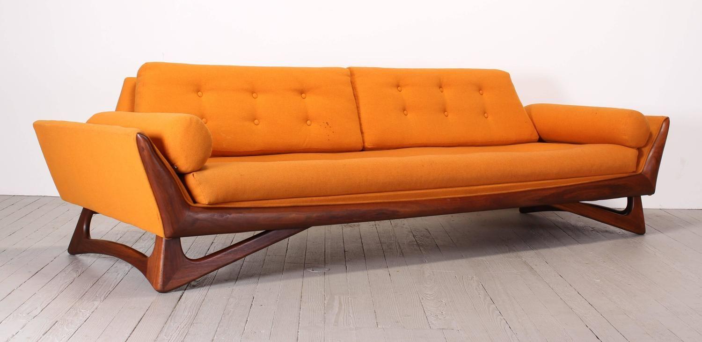 Surprising Adrian Pearsall Sofa For Craft Associates 1960 Creativecarmelina Interior Chair Design Creativecarmelinacom
