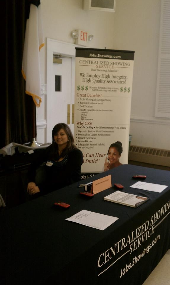 HR Representative, Katie Duymovic at the Charlotte Job Fair