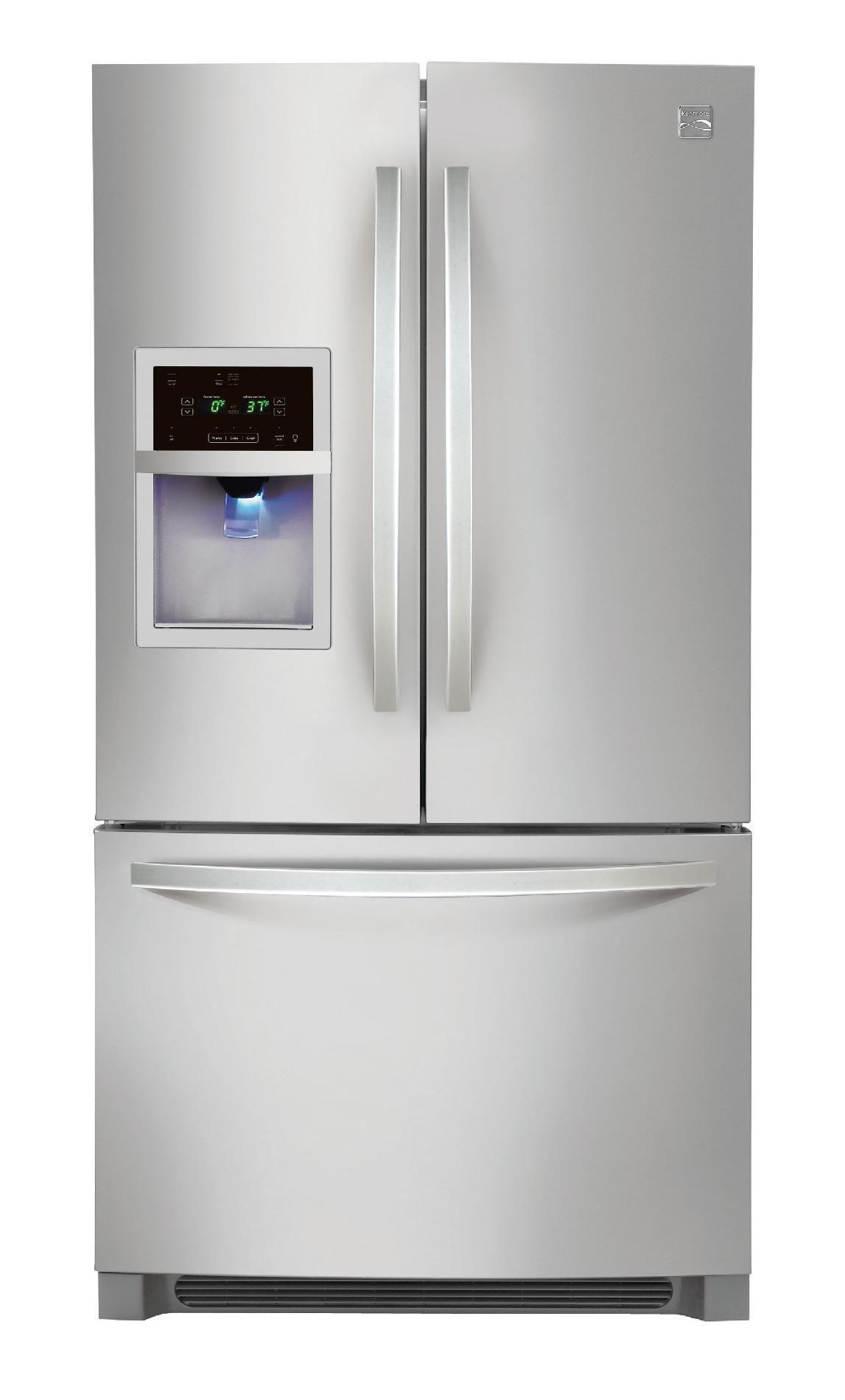 Kenmore French door refrigerator 26 7 cu ft Sears
