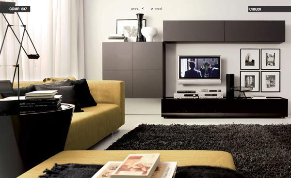 Superior Modern Living Room Decorating Ideas From Tumidei
