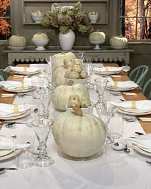 Fall Table Setting | Thanksgiving, Holidays and Autumn