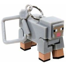 MINECRAFT HANGER Sheep  Action Figure Keychain Jinx NEW