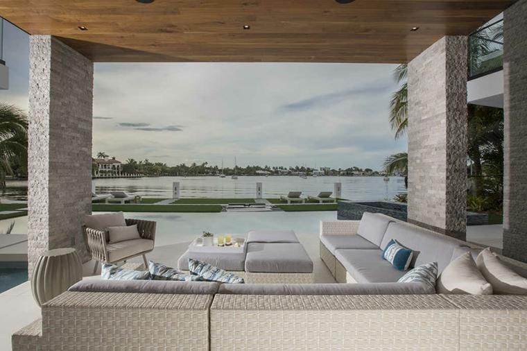 Interior Design Haus 2018 Von Luxusyachten inspirierte Innenräume - farbe wohnzimmer ideen