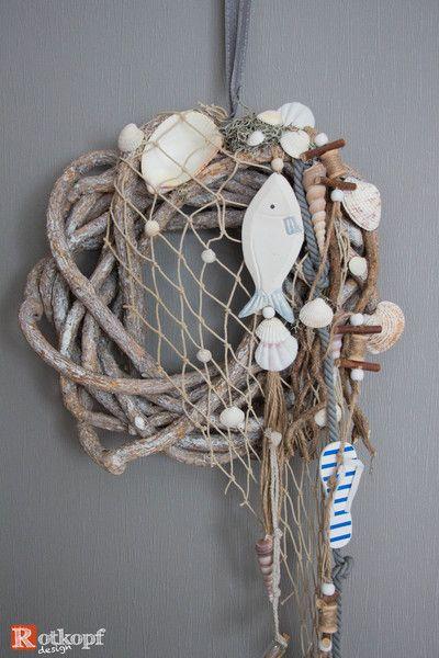 """Photo of Türkränze – Türkranz Sommer """"Fischernetz"""" – ein Designerstück von Rotkopf-de…"""