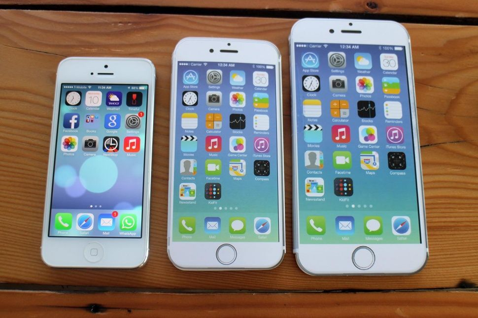 Iphone 6 Plus Size Comparison Here S How Big It Is Digital Trends Iphone Iphone Comparison Phone Cases Iphone6
