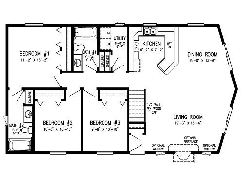 Open Concept Kitchen Dining Room Floor Plans - Google Search