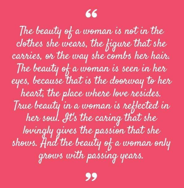 One Of My Favorite Quotes About Inner Beauty By The Impeccable