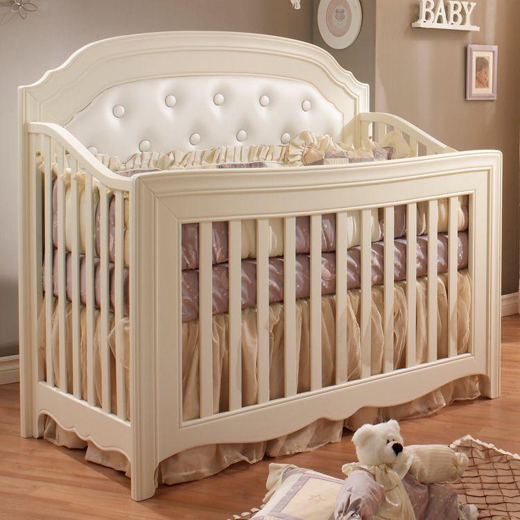 french style baby furniture. Natart Allegra 5 In 1 Convertible Crib French White Style Baby Furniture