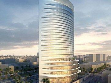 Park Hyatt Riyadh Skyscraper Architecture Futuristic Architecture Interior Architecture Design