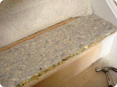 Thrifty Decor Chick: How to take carpet off stairs | Home ...