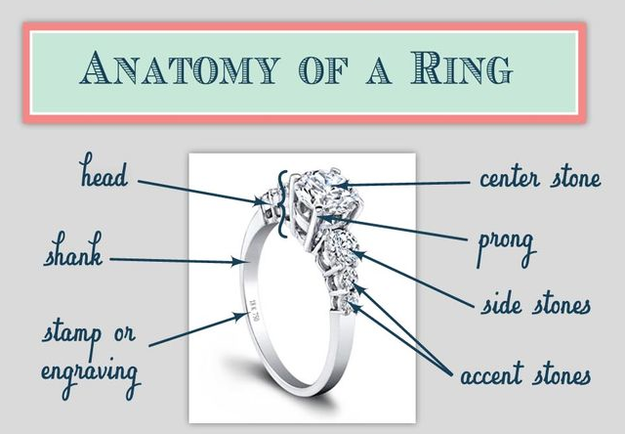 19 Engagement Ring Diagrams That Will Make Your Life Easier Engagement Ring Diagram Engagement Rings Vintage Engagement Rings