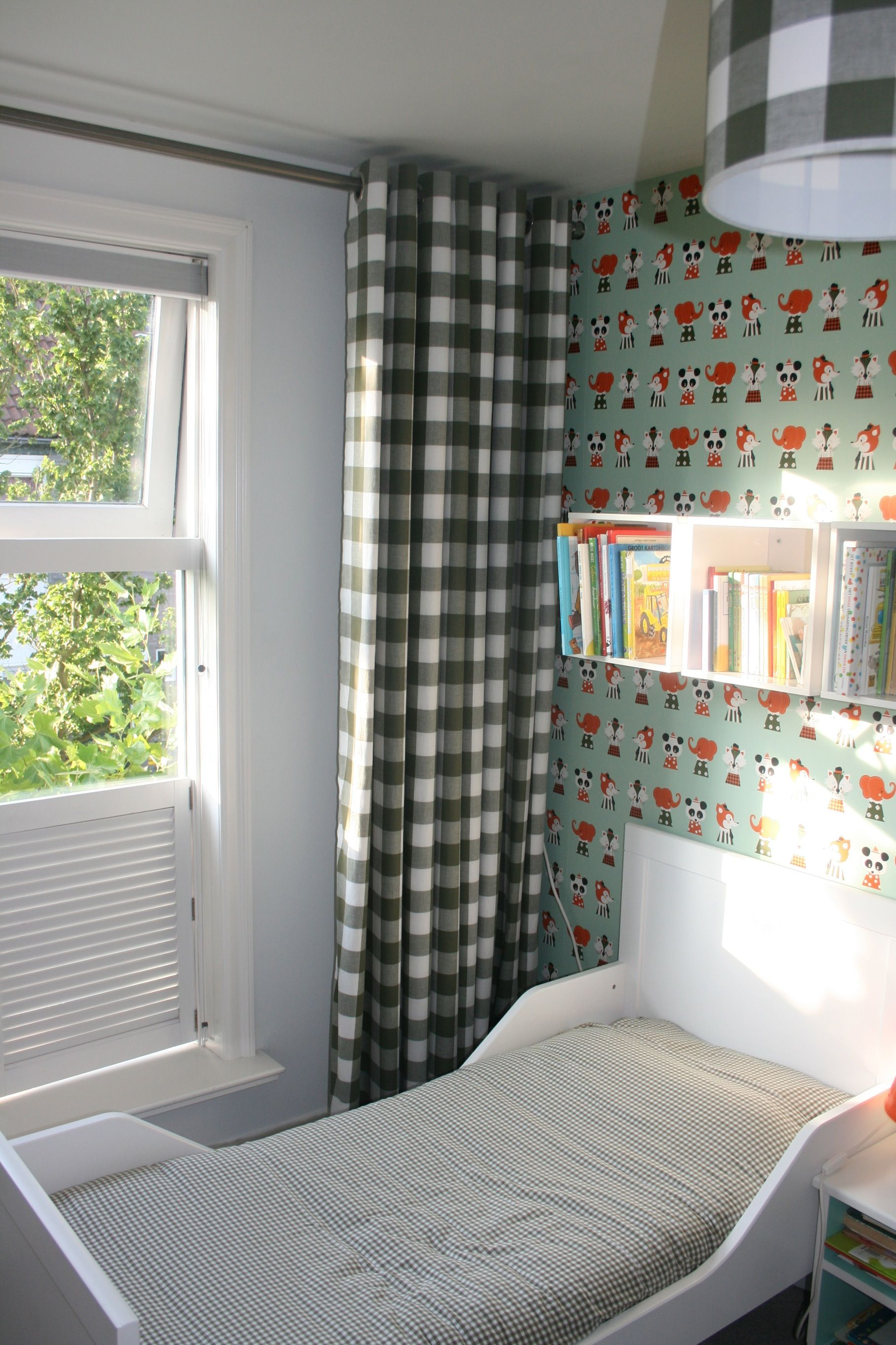 kinderkamer gordijnen curtains boer bontig inspiration