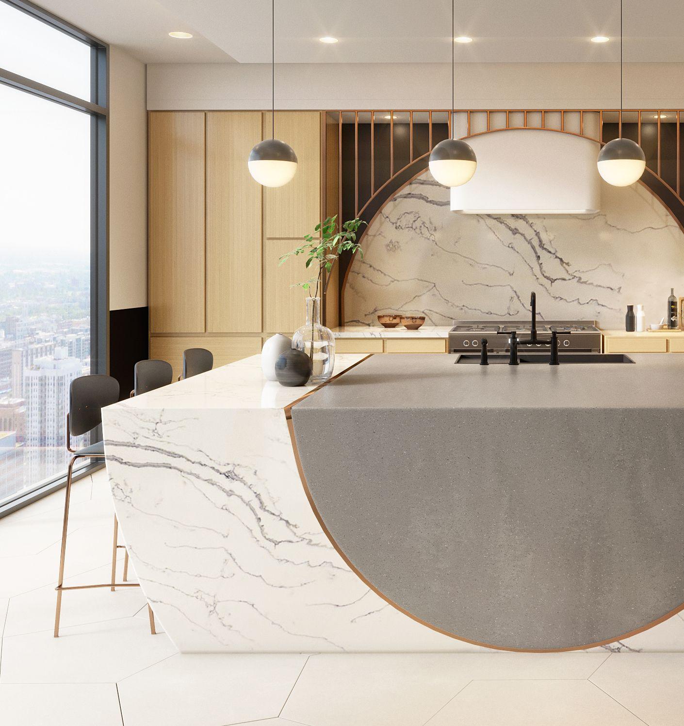 Designing A Dream Kitchen With Corian Design Bobby Berk Solid