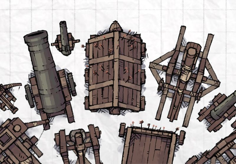 Castle Siege Weapons Dd 5e Dungeons Dragons 5e Dungeon Maps