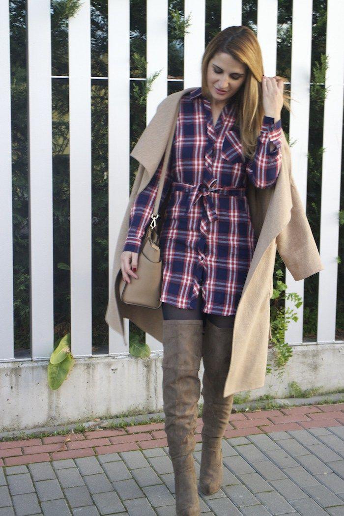 justfab dress boots Amarás la moda Michael Kors bag Paula Fraile3