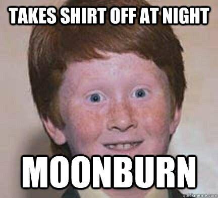 hahahahaha but I love red heads!