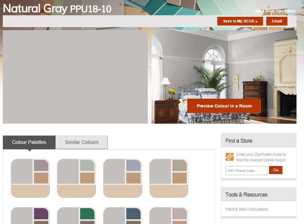 Best Behr Natural Gray Kitchen Pinterest Behr 400 x 300