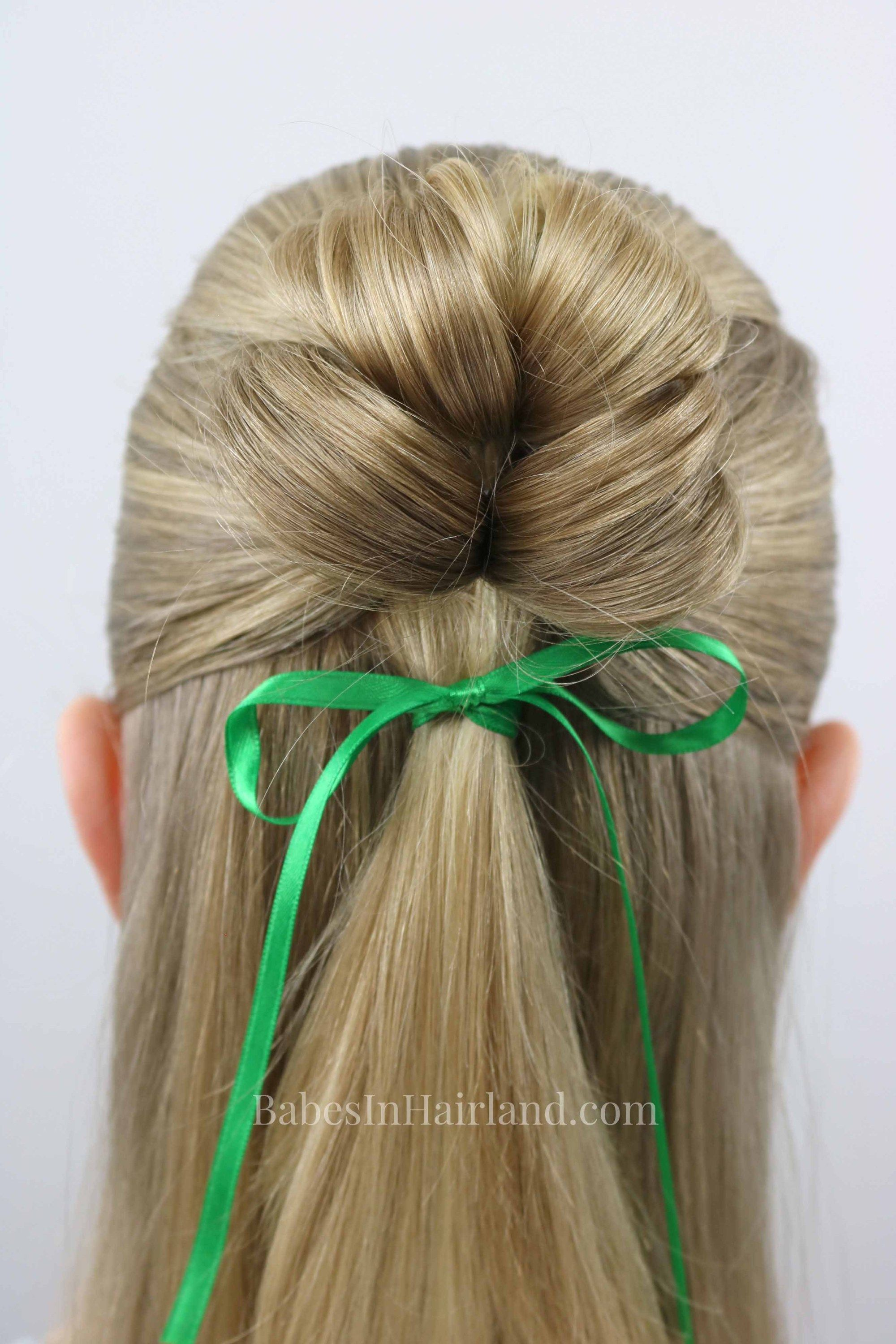 leaf clover hairstyle babes in hairland tutorials