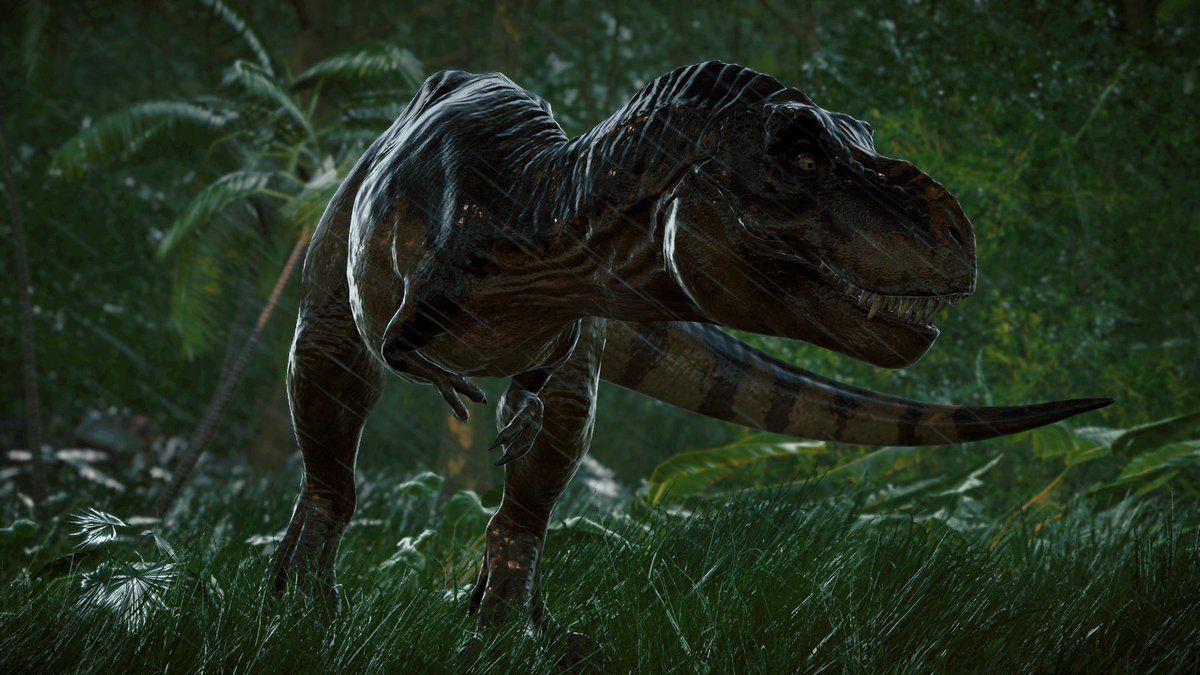 Tyrannosaurus rex Jurassic park world, Jurassic park