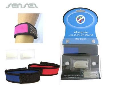 Mosquito Repellent Silicone Wristband